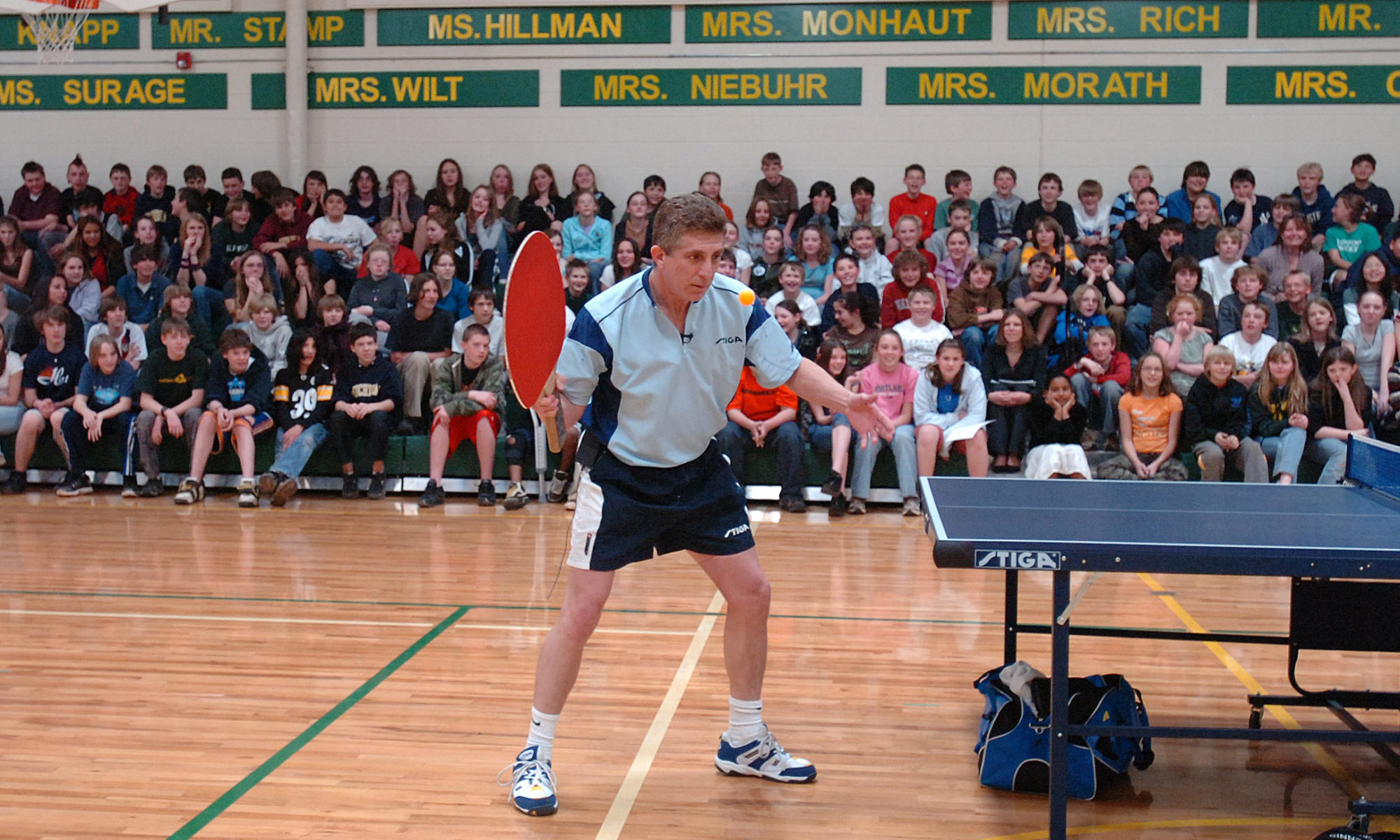 Spectacular World Class Table Tennis Exhibitions & Events